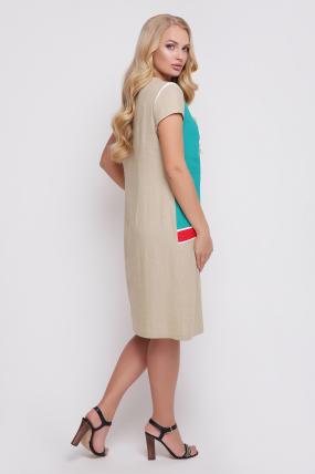 Сукня Веселка (кораловий) 900