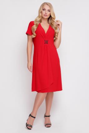 Сукня Киянка (червоний) 912