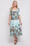 Платье Пузырёк (бирюзовый)