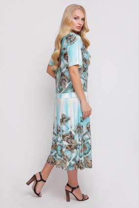 Сукня Бульбашка (бірюзовий) 929