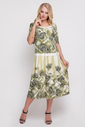 Сукня Бульбашка (бірюзовий) 930