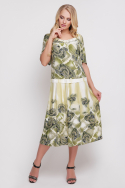 Платье Пузырёк (оливковый)