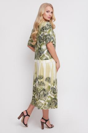 Сукня Бульбашка (бірюзовий) 943